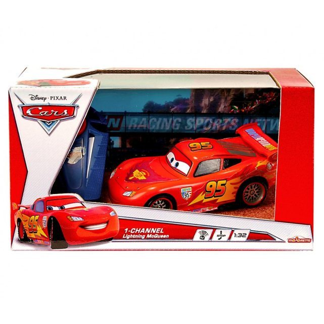 majorette c voiture radiocommand e cars flash mcqueen 1. Black Bedroom Furniture Sets. Home Design Ideas